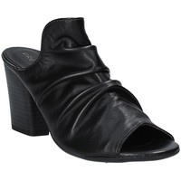 Chaussures Femme Mules Pregunta PF3286 Noir