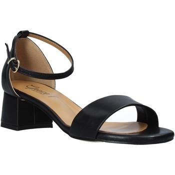 Chaussures Femme Sandales et Nu-pieds Grace Shoes 809001 Noir
