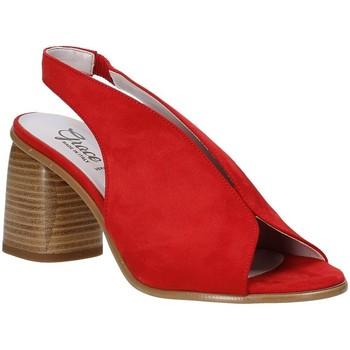 Chaussures Femme Sandales et Nu-pieds Grace Shoes 492S001 Rouge