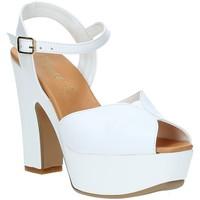 Chaussures Femme Sandales et Nu-pieds Grace Shoes FLY Blanc