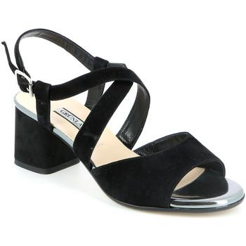 Chaussures Femme Sandales et Nu-pieds Grunland SA1426 Noir
