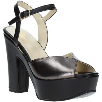 Chaussures Femme Sandales et Nu-pieds Grace Shoes TQ 074 Noir