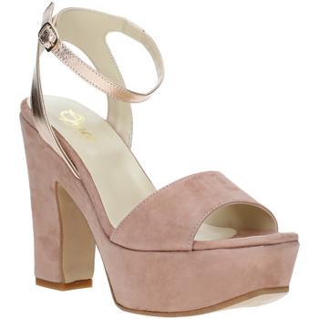 Chaussures Femme Sandales et Nu-pieds Grace Shoes TQ 106 Rose