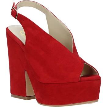 Chaussures Femme Sandales et Nu-pieds Grace Shoes ALBA 107 Rouge