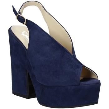Chaussures Femme Sandales et Nu-pieds Grace Shoes ALBA 107 Bleu
