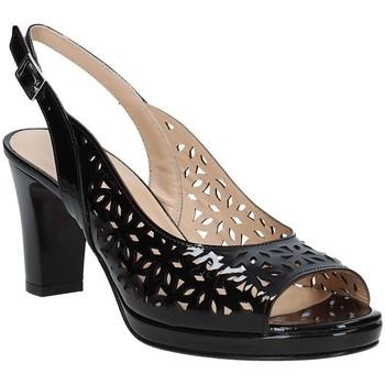 Chaussures Femme Sandales et Nu-pieds Soffice Sogno E9390 Noir