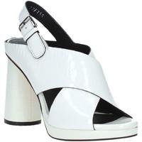 Chaussures Femme Sandales et Nu-pieds Elvio Zanon EJ4408N.C Blanc