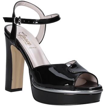 Chaussures Femme Sandales et Nu-pieds Grace Shoes 5753003 Noir