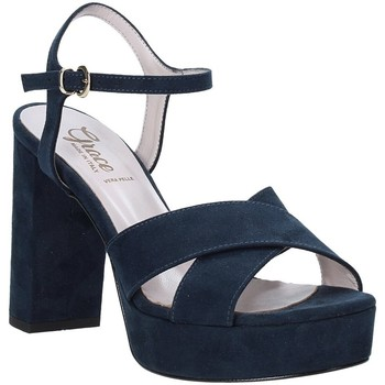 Chaussures Femme Sandales et Nu-pieds Grace Shoes 492PL003 Bleu