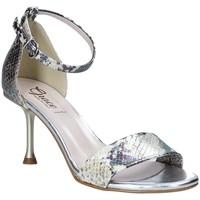 Chaussures Femme Sandales et Nu-pieds Grace Shoes 492G001 Gris