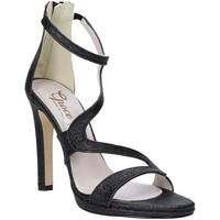 Chaussures Femme Sandales et Nu-pieds Grace Shoes 2383007 Noir