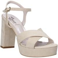 Chaussures Femme Sandales et Nu-pieds Grace Shoes 492PL003 Beige