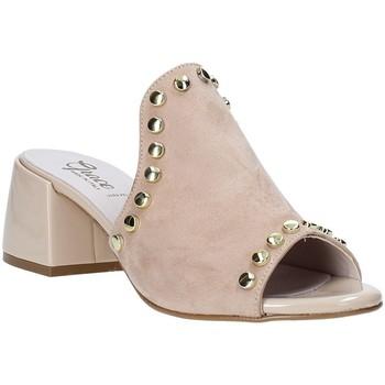 Chaussures Femme Mules Grace Shoes 1576006 Beige