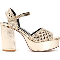 Chaussures Femme Sandales et Nu-pieds Café Noir MA931 Autres