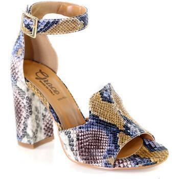 Chaussures Femme Sandales et Nu-pieds Grace Shoes 018N026 Marron