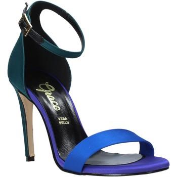 Chaussures Femme Sandales et Nu-pieds Grace Shoes 018Y037 Vert