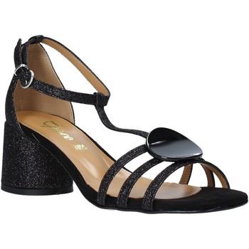 Chaussures Femme Sandales et Nu-pieds Grace Shoes 123011 Noir