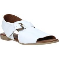 Chaussures Femme Sandales et Nu-pieds Bueno Shoes 9L2700 Blanc