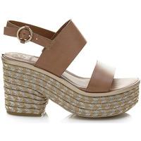 Chaussures Femme Sandales et Nu-pieds Guess FLNIN2 LEA03 Marron