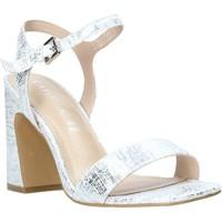 Chaussures Femme Sandales et Nu-pieds Café Noir LA926 Argent