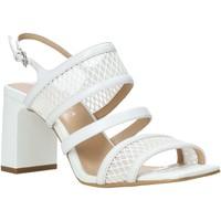 Chaussures Femme Sandales et Nu-pieds Apepazza S0MONDRIAN10/NET Blanc