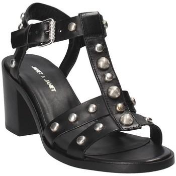 Chaussures Femme Sandales et Nu-pieds Janet&Janet 41409 Noir