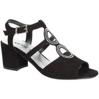 Chaussures Femme Sandales et Nu-pieds Keys 5713 Noir