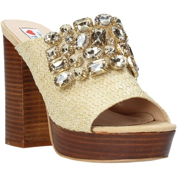 Chaussures Femme Mules Love To Love ELI4177 Marron