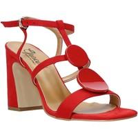 Chaussures Femme Sandales et Nu-pieds Grace Shoes 2384008 Rouge