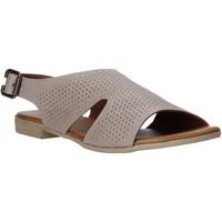 Chaussures Femme Sandales et Nu-pieds Bueno Shoes 9L2702 Gris
