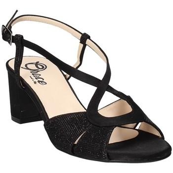Chaussures Femme Sandales et Nu-pieds Grace Shoes 4011 Noir