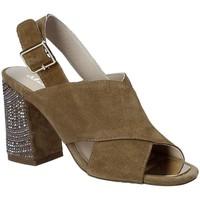 Chaussures Femme Sandales et Nu-pieds Alma En Pena V18277 Marron