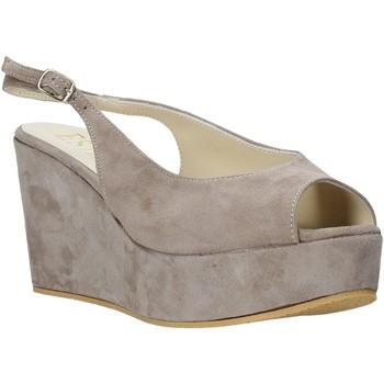 Chaussures Femme Sandales et Nu-pieds Esther Collezioni ZC 042 Gris