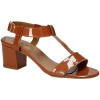 Chaussures Femme Sandales et Nu-pieds Mally 3895K Marron