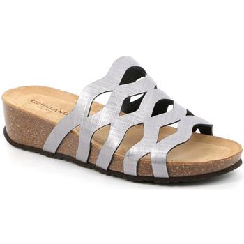 Chaussures Femme Mules Grunland CB2490 Gris