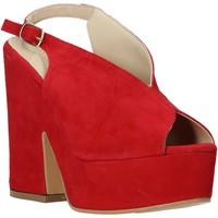 Chaussures Femme Sandales et Nu-pieds Esther Collezioni ALBA 107 Rouge