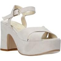 Chaussures Femme Sandales et Nu-pieds Esther Collezioni RM133 Gris
