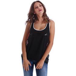 Vêtements Femme Débardeurs / T-shirts sans manche Fornarina BE17T523CA05E9 Noir
