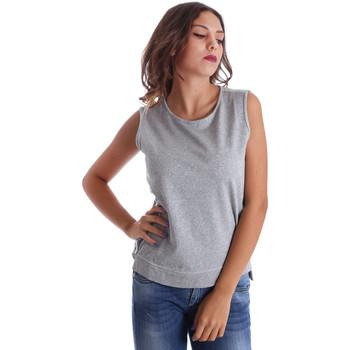 Vêtements Femme Débardeurs / T-shirts sans manche Fornarina BE17T524F42990 Gris
