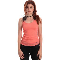 Vêtements Femme Débardeurs / T-shirts sans manche Fornarina BE175J75H26368 Orange