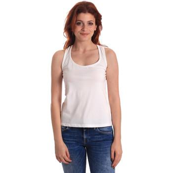 Vêtements Femme Débardeurs / T-shirts sans manche Fornarina BE175L04JG0709 Blanc