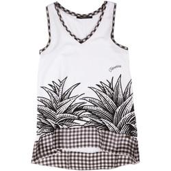 Vêtements Femme Débardeurs / T-shirts sans manche Fornarina BERT484JF7409 Blanc