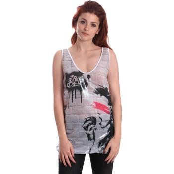 Vêtements Femme Débardeurs / T-shirts sans manche Fornarina SE175J67H27509 Blanc