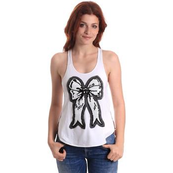 Vêtements Femme Débardeurs / T-shirts sans manche Fornarina SE17T517JG0709 Blanc