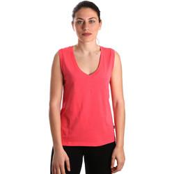 Vêtements Femme Débardeurs / T-shirts sans manche Converse 10017502-A01 Rose
