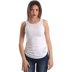 Vêtements Femme Débardeurs / T-shirts sans manche Ea7 Emporio Armani 3GTH54 TJ28Z Blanc