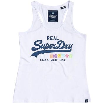 Vêtements Femme Débardeurs / T-shirts sans manche Superdry G60516ST Blanc