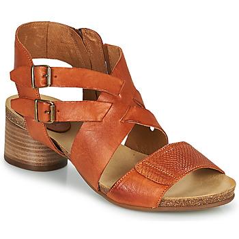 Chaussures Femme Sandales et Nu-pieds Casta ERVA Orange