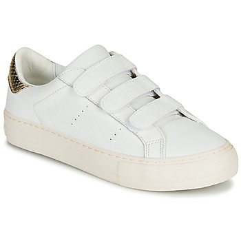 Chaussures Femme Baskets basses No Name ARCADE STRAPS Blanc / Beige