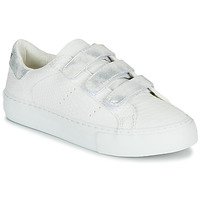 Chaussures Femme Baskets basses No Name ARCADE STRAPS Blanc / Argent